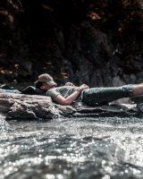 durmiendo en el rio anti ronquidos