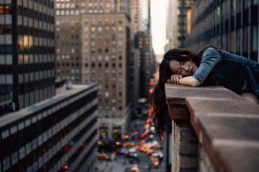 durmiendo en la calle sin antironquidos